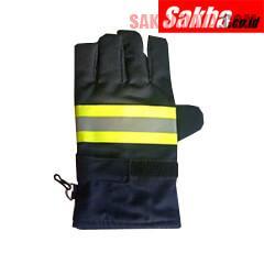 Fire Gloves Black / Sarung Tangan Pemadam Kebakaran
